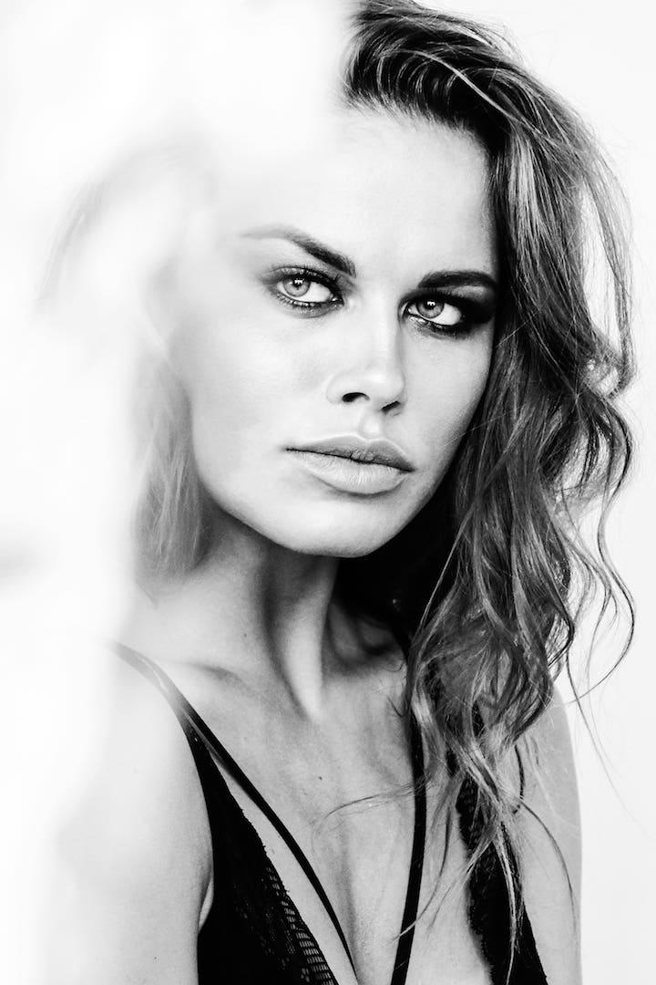 Model Varvara Ryllo, MUA Alena Kiseleva