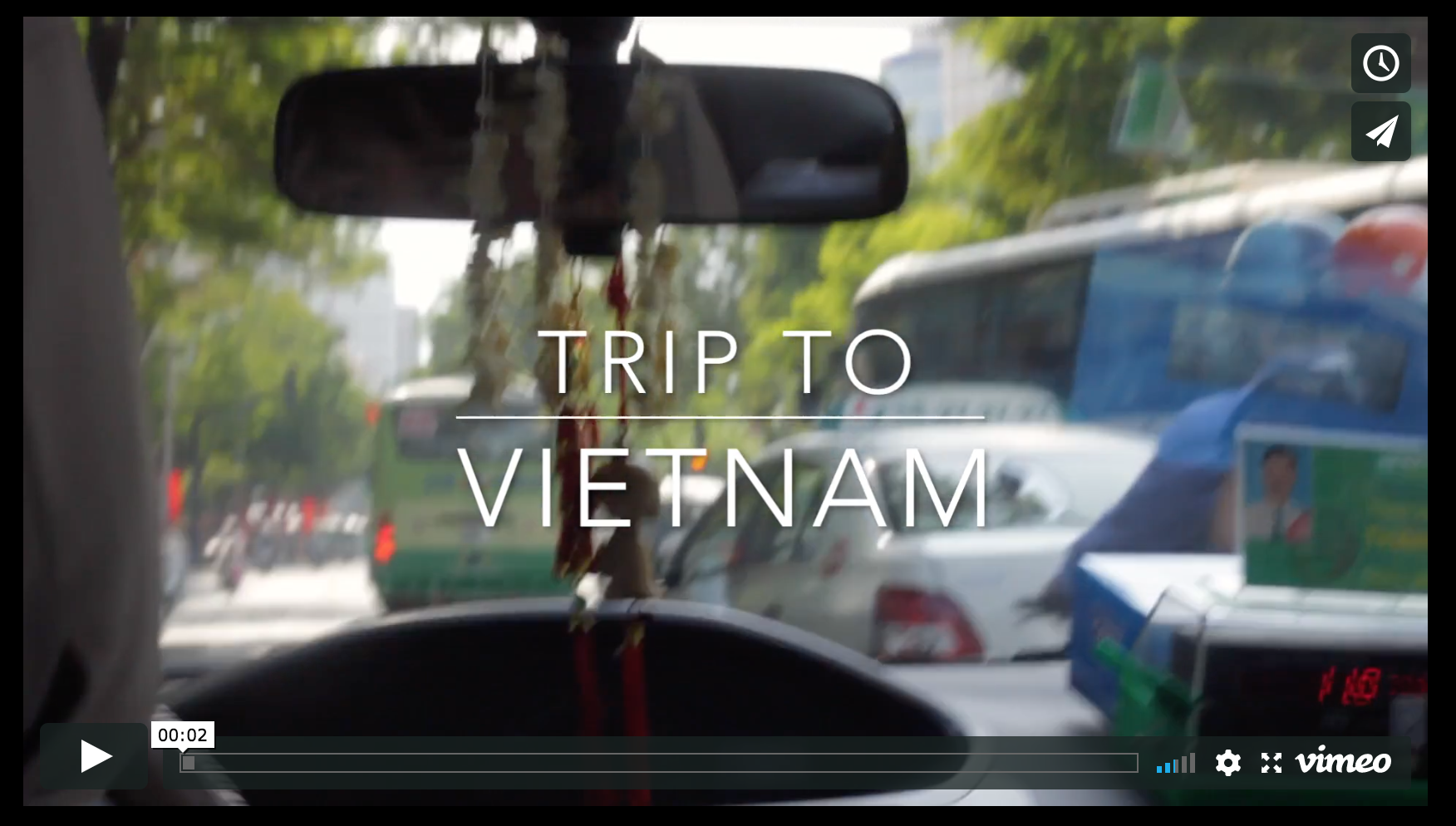 Short movie about traveling to a different parts of Vietnam.