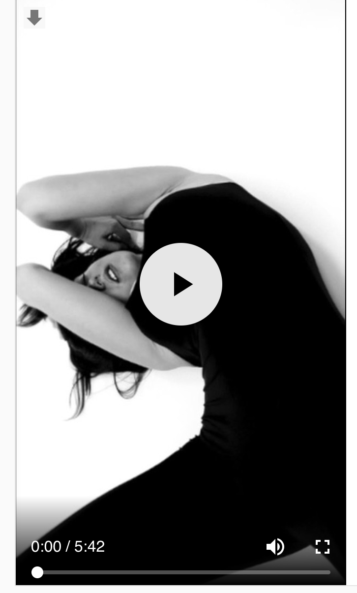 UNGRAVITY.   Performer Oksana Tomashik Music Teletape - Exgarage