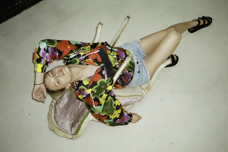 Model Nika Pavlova MUA Elena Mironova